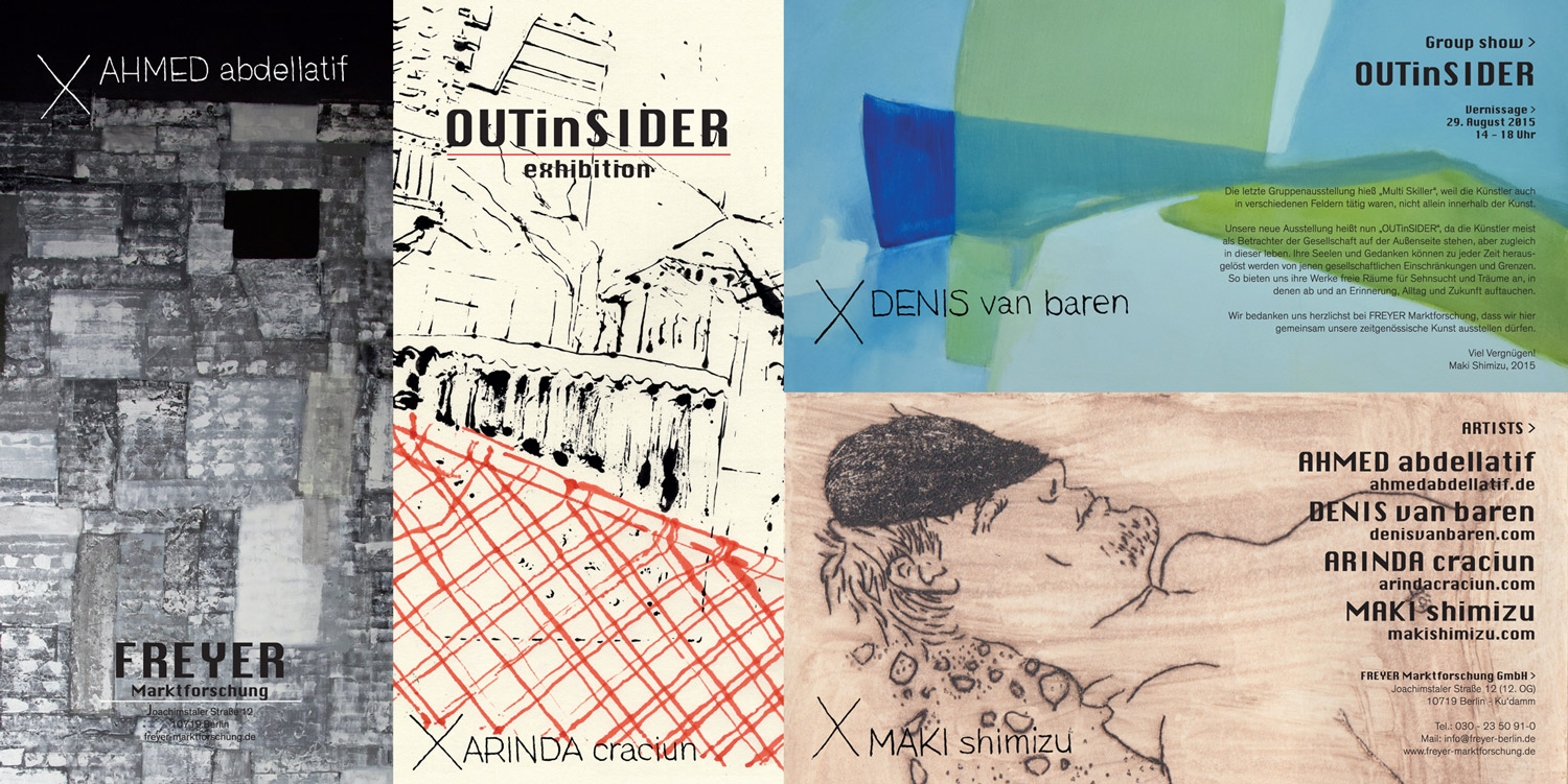Group show : OUTinSIDER